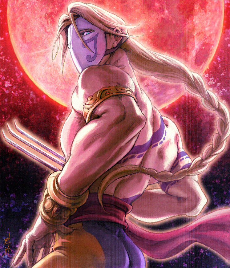 StreetFighter - VEGA by DADAIST-Gabriel