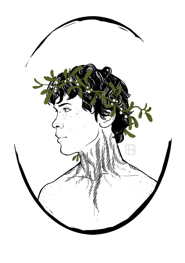 The 100 - A Mistletoe Crown by keihi