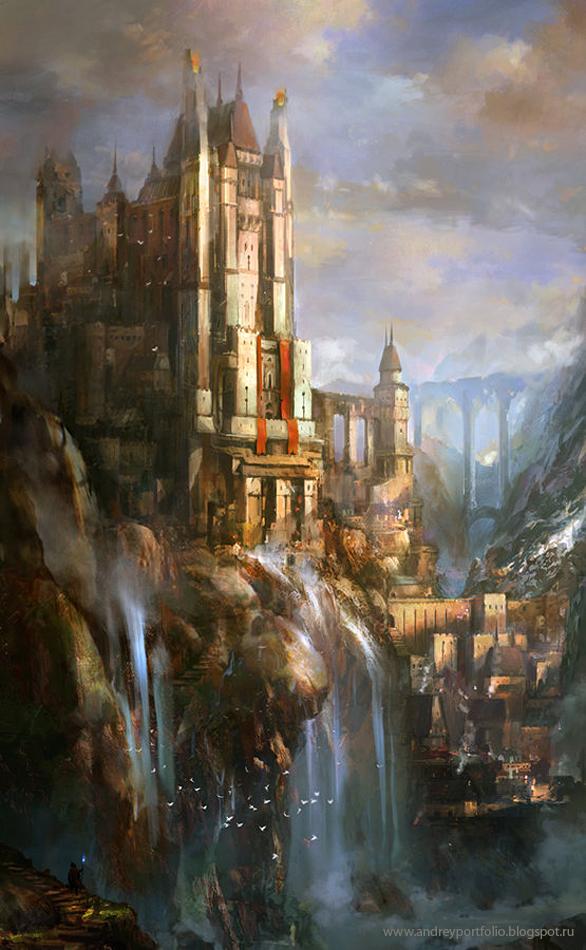 Castle by Andrey Vasilchenko
