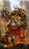 Ogre butcher by Allnamesinuse