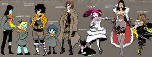 Noumenon Characters by MaximoVLorenzo