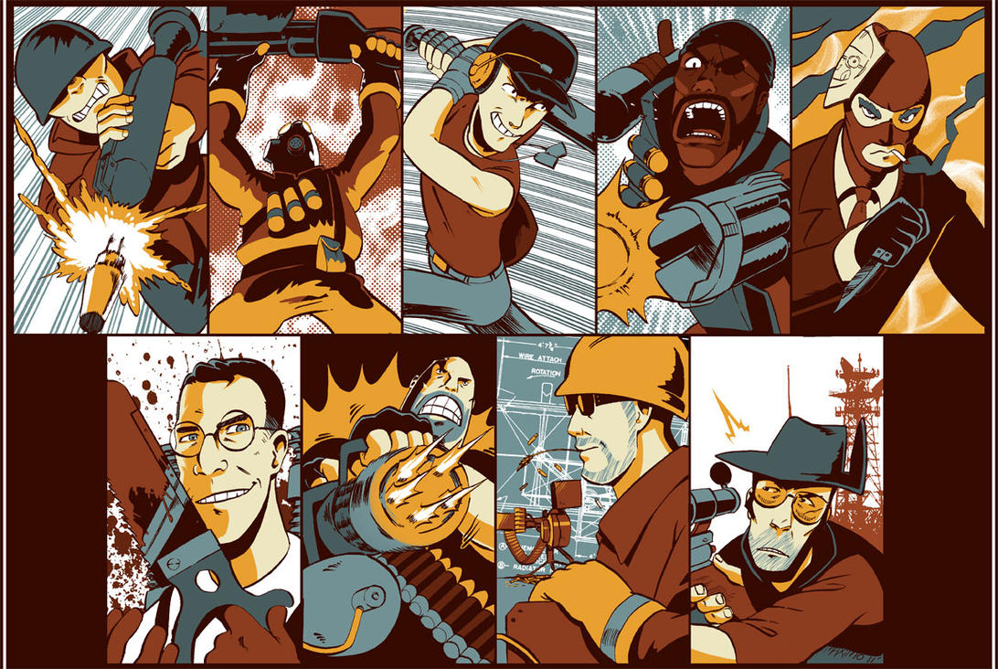 Team Fortress 2 by MaximoVLorenzo