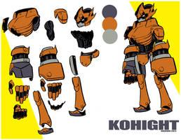 KOHIGHT Mech design by MaximoVLorenzo