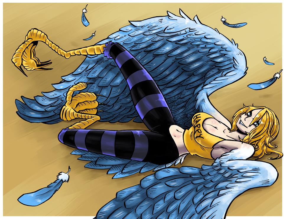 Harpy Mone by MaximoVLorenzo