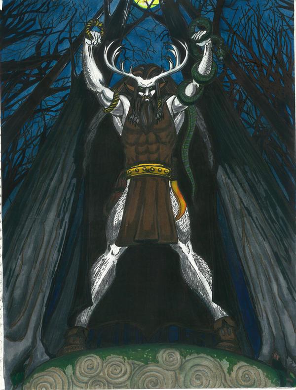 Cernunnos by conallwolf