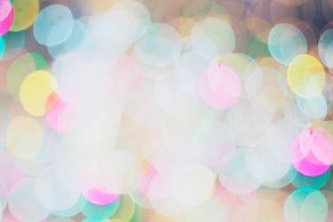 Cotton Candy Bokeh Texture by polkapebble