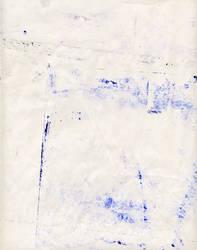 Blue Ink Smudges Texture