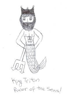 King Triton Ruler of the Seas