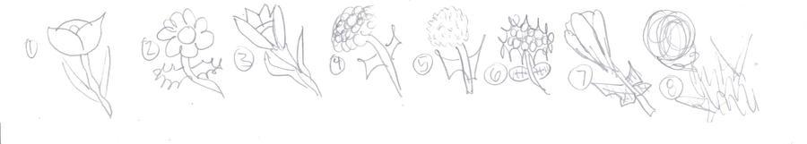 Quick Flowers Doodle