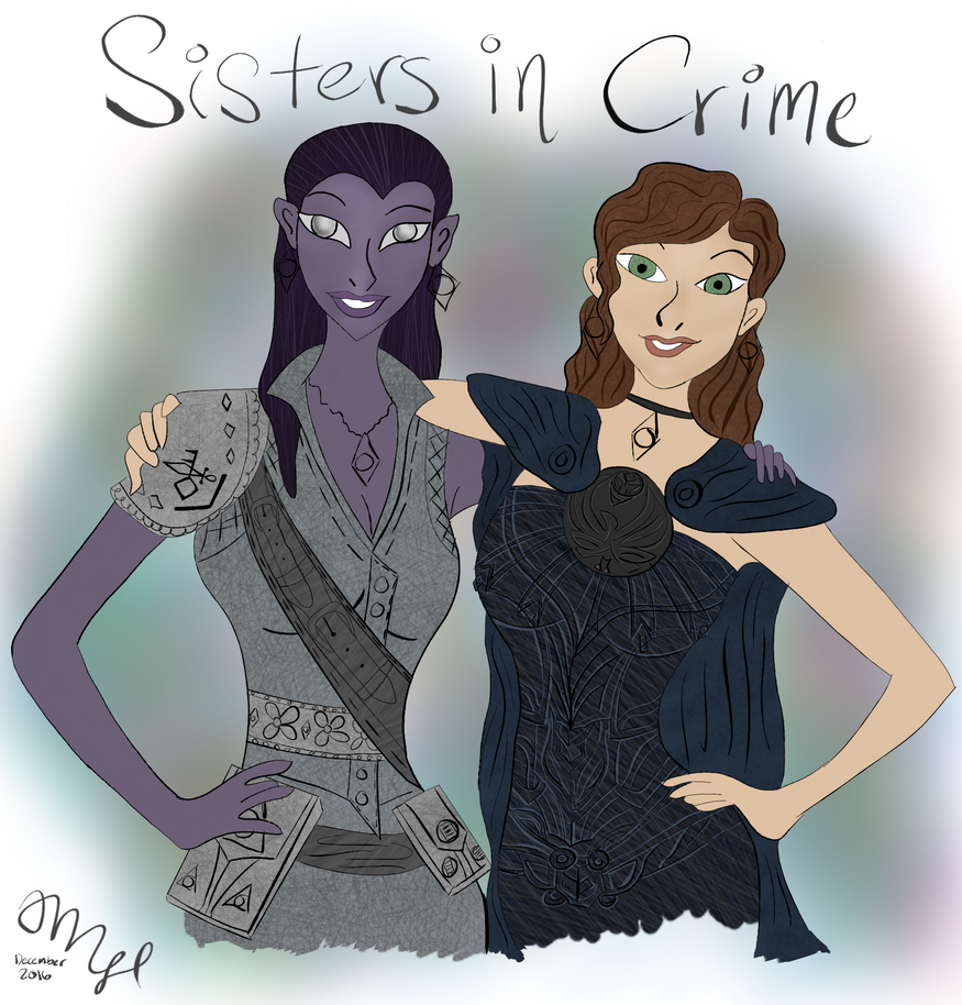 Sisters in Crime by VentusAquaTerra