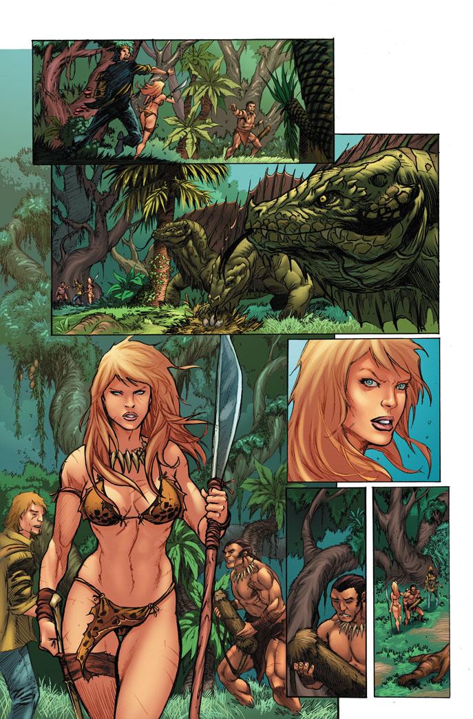Jungle Girl Page By Giovanikososki On Deviantart