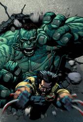 Hulk versus Wolverine 02