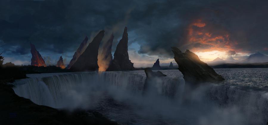 Fantasy Falls by GiovaniKososki