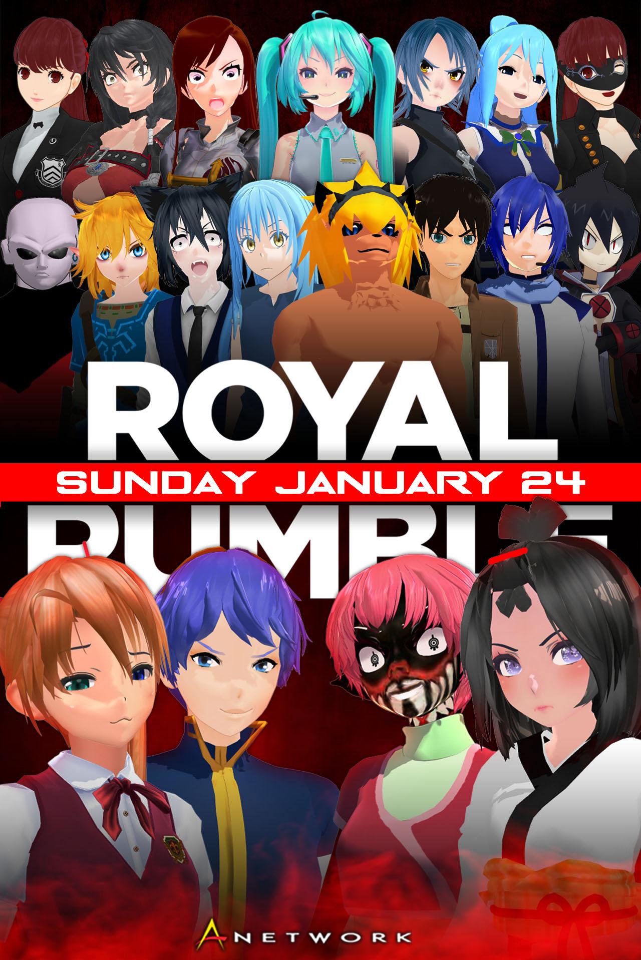 Royal Rumble 2021 Earlier Poster by KitamiChin on DeviantArt