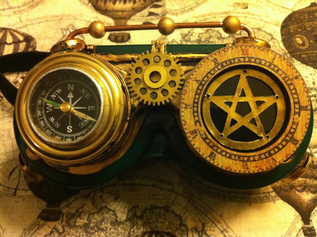 SteamPunk Goggles by NenaPerrill on DeviantArt