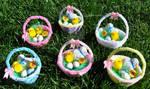 tiny easter baskets by sparklingsatine555