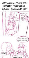 Persona 3 yet another 4koma