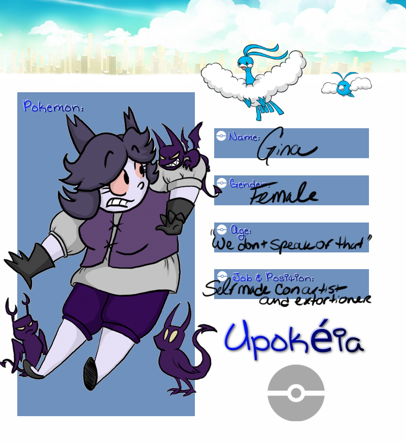 Upokeia Application: Gina by SpiffyShoes