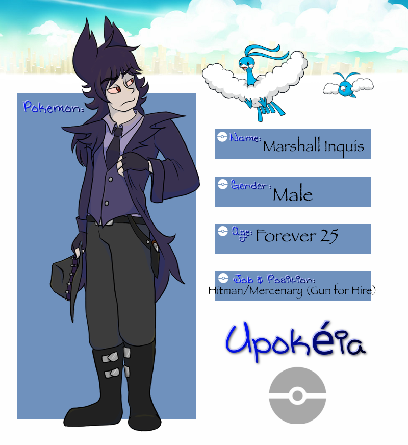 Upokeia Application: Marshall Inquis by SpiffyShoes