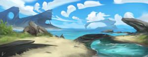 Manu Island by Krannart