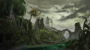 Bosque Kurast by Krannart