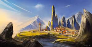 Capadocia City Fantasy
