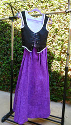 Renaissance Dress, Briar Rose Inspired by AndyVRenditions