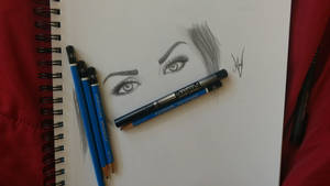 Megan Fox eyes by AndyVRenditions