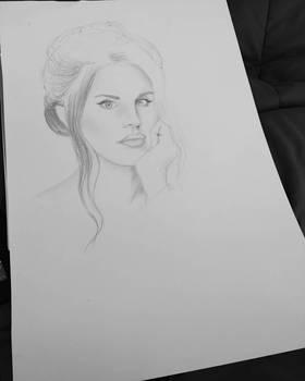 Lana Del Rey Sketch
