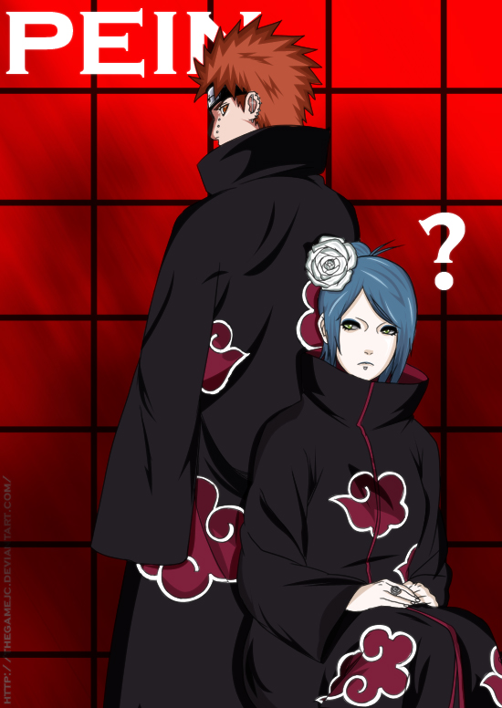 Pein And Blue Hair by TheGameJC
