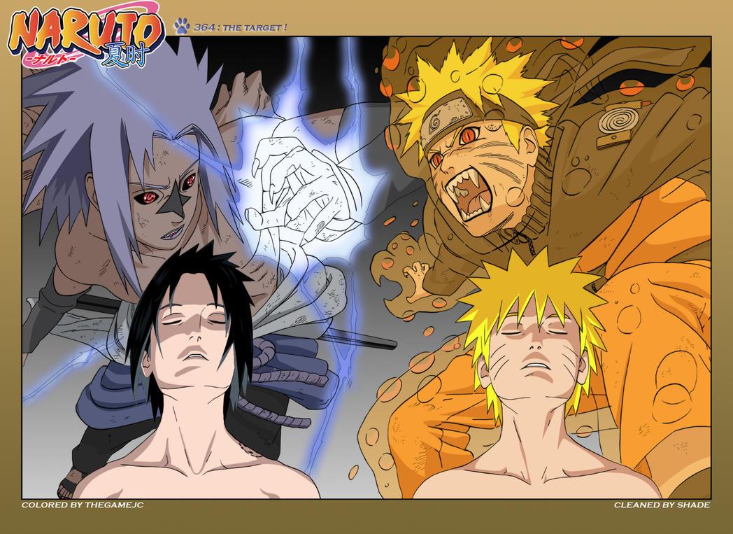 Naruto Manga Ch364 Cover by TheGameJC