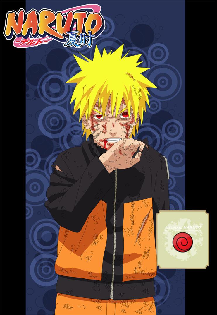 Naruto Manga Ch365 Cover by TheGameJC