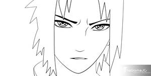 Naruto Ch386 Pg17 LineArt