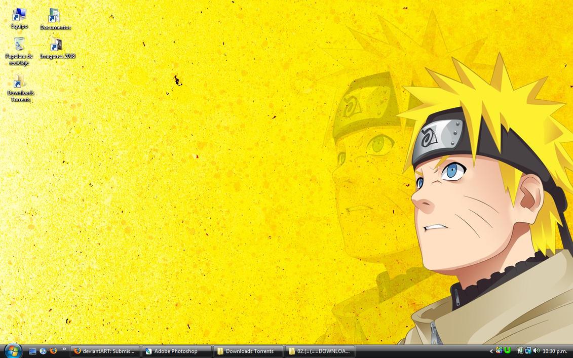 Cool Wallpaper Naruto Yellow - naruto_yellow_wallpaper_by_thegamejc  Pictures.jpg