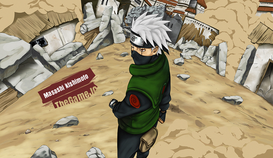 Good Luck, Kakashi by TheGameJC
