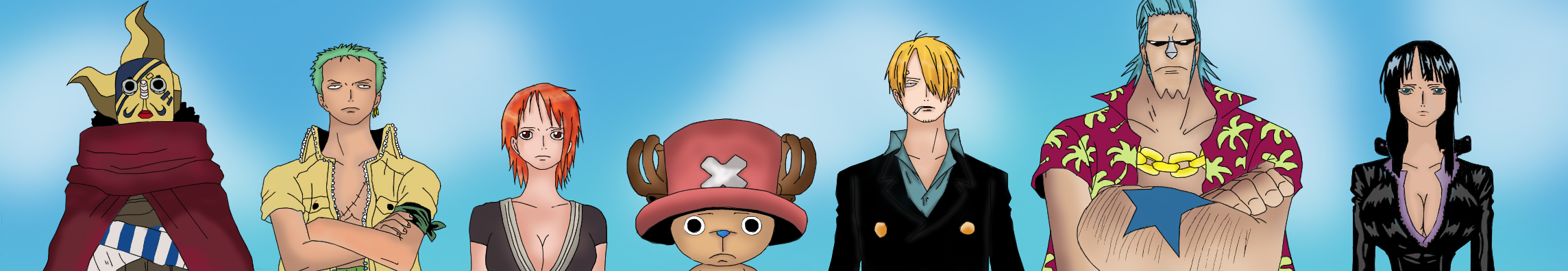 Team of One Piece by TheGameJC
