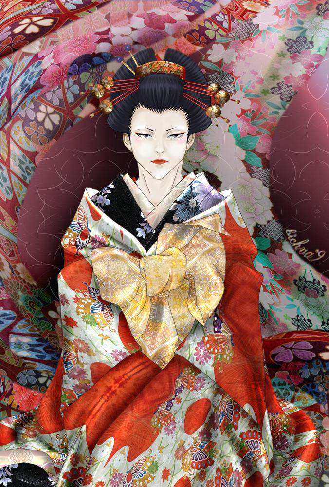 Byakuya-oiran by bichva