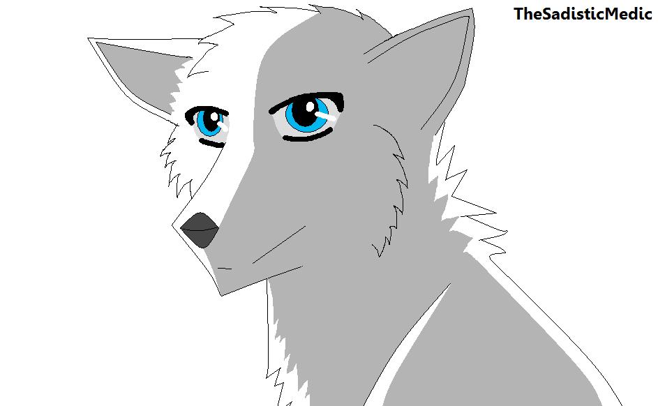 Wolf Base Ms Paint