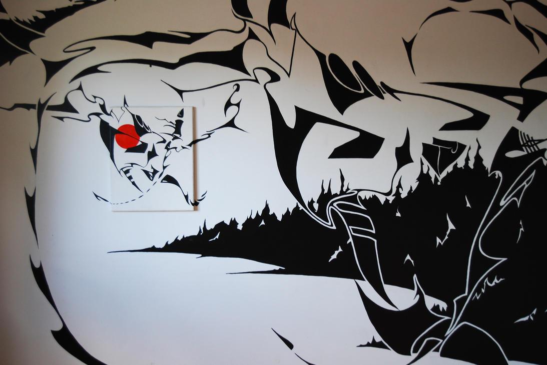 Herongate Mural by RuncimanConcepts