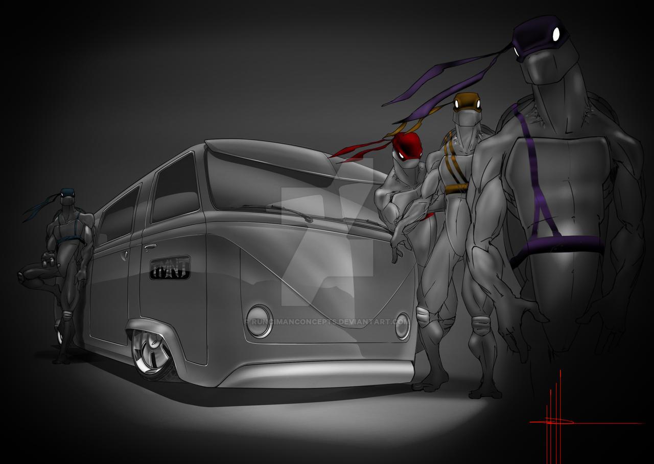 TMNT Bus by RuncimanConcepts