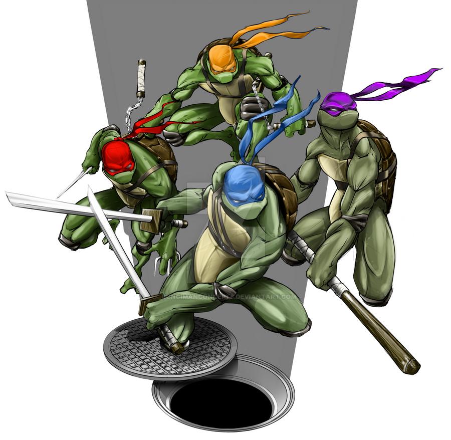 Turtles by RuncimanConcepts