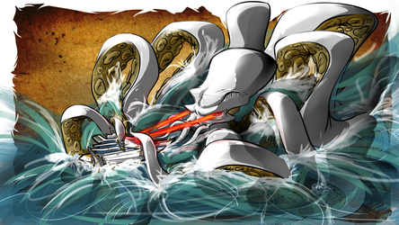 Kraken - Pier 9 by RuncimanConcepts