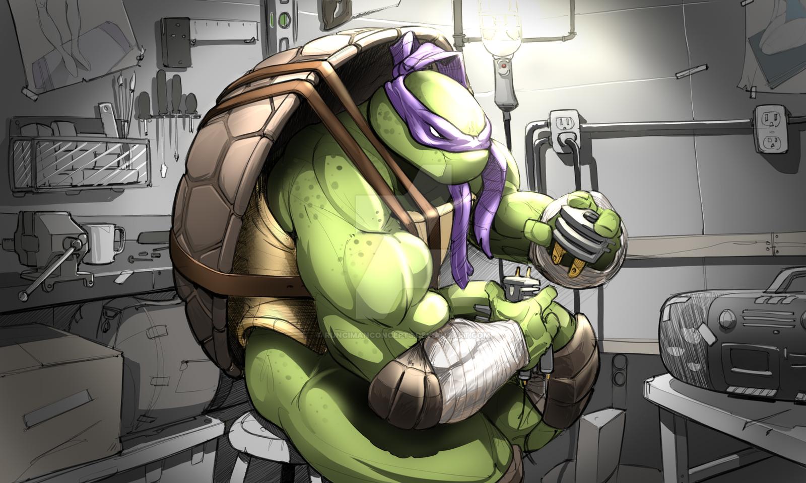 Donatello by RuncimanConcepts