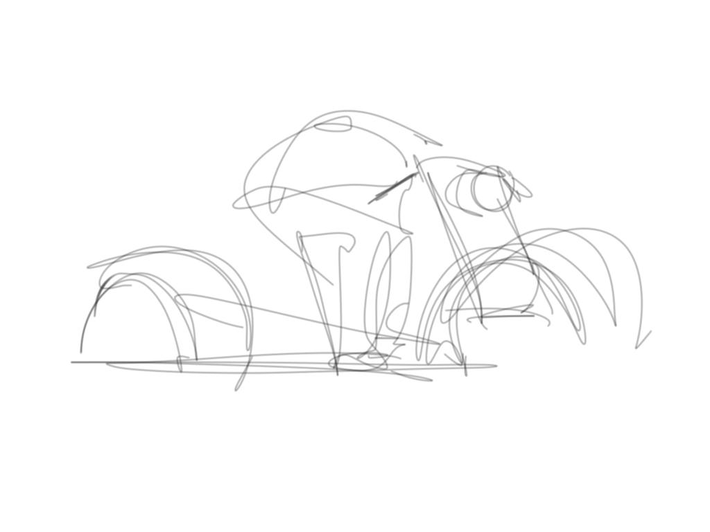 FUTURISTIC MOTORCYCLE by RuncimanConcepts