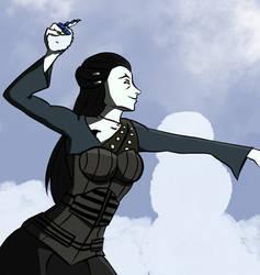 Snow Queen by VioletteTheViolent