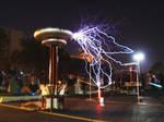 Tesla Coils at Duckon 16 by EudaemonicPlague