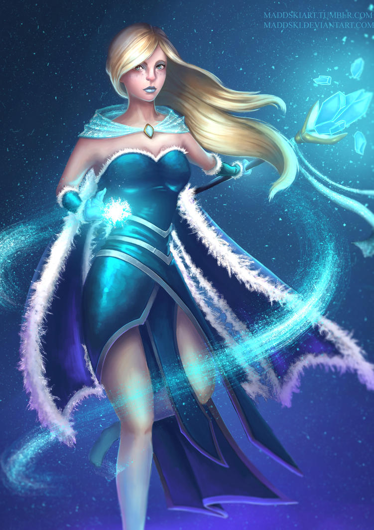 Dota2 Crystal Maiden Arcana (updated version) by ...