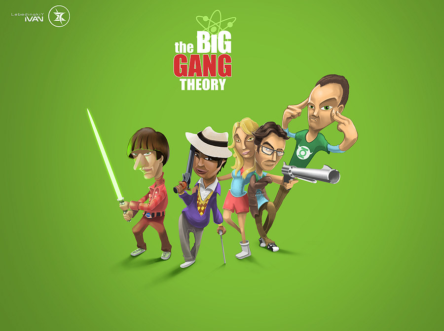 The Big Gang Theory by META-SIrIuS