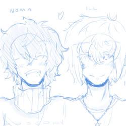 Ill and Noma - A random story by Rhuwks