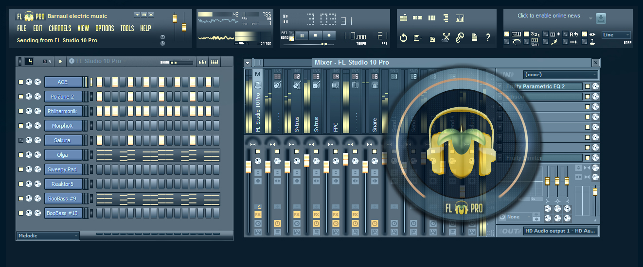 Fl studio 10 skins